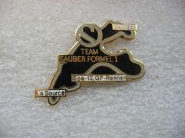 Pin's 12me Course Grand Prix En Formule 1 De La Team SAUBER Sur Le Circuit De Spa-Francorchamps En Belgique - F1