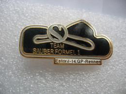 Pin's 14me Course Grand Prix En Formule 1 De La Team SAUBER Sur Le Circuit De ESTORIL  (Portugal) - F1