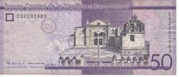 BILLETE DE REP. DOMINICANA DE 50 PESOS ORO DEL AÑO 2016 SERIE EQ (BANKNOTE) - Dominicana