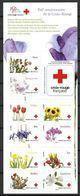 France 2014 Bande Carnet N° BC 989 Neuve Fleurs Avec Surtaxe Pour La Croix Rouge à La Faciale - Autoadesivi