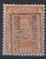 Albert I Nr. 135 Type I Voorafgestempeld Nr. 2516 B  SCHERPENHEUVEL 20 MONTAIGU  ; Staat Zie Scan ! - Roller Precancels 1910-19