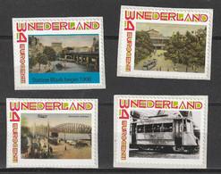 Nederland NVPH 2619 Persoonlijke Decemberzegels Rotterdam Trains 2010 MNH Postfris Railways Public Transport - Private Stamps