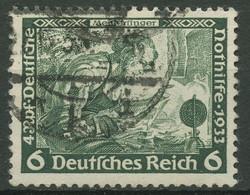 Deutsches Reich 1933 Deutsche Nothilfe Wagner 502 A Gestempelt - Oblitérés
