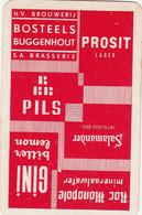 1  Speelkaart  -  Bosteels-  Buggenhout - Sin Clasificación