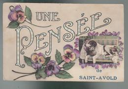 CP - 57 - Une Pensée De Saint-Avold - Saint-Avold