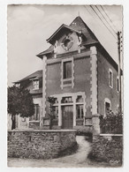 19 - SOURSAC - MAIRIE - POSTE - CPSM DENTELÉE - 1956 - Other Municipalities