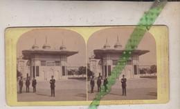Foto Stereo Stereophoto Weltaustelling In Wien 1873, Fontaine D'Achmed, Cote Est. Expo Universelle De Vienne 1873 - Photos Stéréoscopiques
