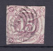 Thurn Und Taxis - 1859/61 - Michel Nr. 24 N4 - Gestempelt - 120 Euro - Tour Et Taxis