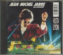 """CD+63-/- J. MICHEL JARRE  """" EN CONCERT, LYON & HOUSTON  """" - TBE - VOIR IMAGE VERSO POUR LES TITRES - DETAIL SUR DEMANDE - New Age"""