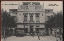 39 - LONS-LE-SAUNIER-les-BAINS - Façade Du Théâtre Et Du Grand Café Du Théâtre - Lons Le Saunier