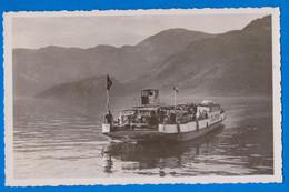 AUTO FÄHRE VIERWALDSTÄTTERSEE Mit Rigi Scheidegg Suisse 1947 - LU Lucerne