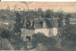 Stainville (55 Meuse) Ancien Château Circulée FM 1915 Poilu En Convalescence Pour Un Autre En Convalescence Aussi Angers - Andere Gemeenten