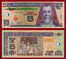 Guatemala P116,5 Quetzal, General Barrios / Blackboard, Students, Teacher UNC - Guatemala