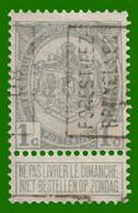 "PREO N° 1128 - Position A  ""FOREST-LEZ-BRUXELLES"" - Roller Precancels 1894-99"