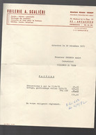 Arcachon (33 Gironde) Facture 1970 VOILERIE SCALIERI  (PPP31103) - 1950 - ...