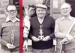 Foto Persfoto - Beigem - Boogschieten Keizer JB De Visscher& J. Van Mol, Zellik & E. Van Malderen , Humbeek 1981 - Sin Clasificación
