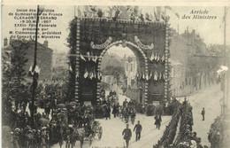 Union Des Sociétés De Gymnastique De  France CLERMONT FERRAND   19 20 Mai 1907 8 Fete Federale Presidée Par M Clemenceau - Clermont Ferrand