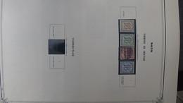 W176 Collection De Timbres Oblitérés Et * D'Allemagne Anciens états , Liechtenstein Et Suisse  A Saisir !!! - Collezioni (in Album)