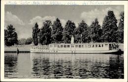 CPA Potsdam In Brandenburg, Dampfer Potsdam, Anlegestelle Der Weißen Flotte - Otros