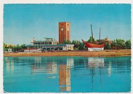 KUWAIT  Yachting Club And Clock Tower, Nice Stamp 1976, Old Postcard OLD POSTCARD  RPPC PC PPC - Kuwait