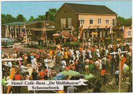 Schoonebeek: OPEL MANTA A, VW T2-BUS - Hotel  'De Wolfshoeve' - (Holland) - Fanfare - Turismo