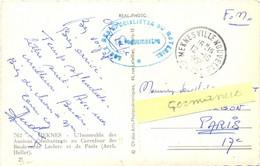 MILITAIRE MAROC – ECOLE DES SPECIALISTES DU MATERIEL ★ MEKNES VILLE NOUVELLE Le 12-10-1956 - Military Postmarks From 1900 (out Of Wars Periods)