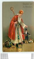 N°10566 - Groeten Van St. Nicolas - Saint-Nicolas