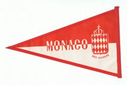 Fanion En Toile Cirée -MONACO - MONTE CARLO  -  Tourisme, Voyage, Vacances, ...( Fr83) - Andere