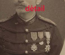 CDV Officier Médaillé-photo Constant Peigné à Saint Nazaire - Guerre, Militaire