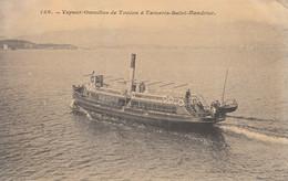 83 - TOULON    VAPEUR OMNIBUS DE TOULON A TAMARIS -SAINT MADRIER - Toulon