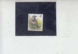 BELGIO   1989 - Unificato  2221° - Uccelli -.- - Spatzen