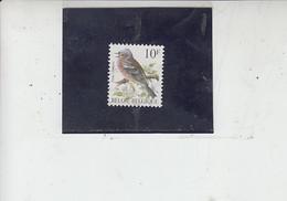 BELGIO   1990 - Unificato  2351° - Uccelli -.- - Spatzen