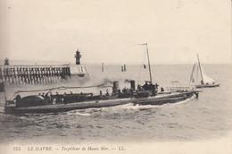 76 LE HAVRE  TORPILLEUR DE HAUTE MER - Harbour