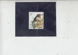 BELGIO   1992 - Unificato  2475° - Uccelli -.- - Spatzen