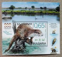Bulgaria 2019. Fauna. Otter. MNH - Nuevos