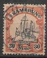 Kamerun Duala 1904 Cancel 5,5 Euros - Colonia: Camerun