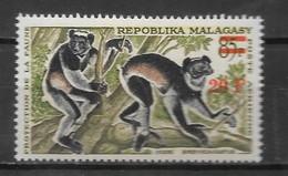 PA - 1968 - N° 106**MNH - Lémuriens Surchargé - Madagaskar (1960-...)
