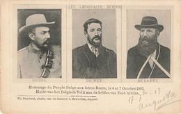 HOMMAGE DU PEUPLE BELGE AUX HEROS BOERS LE 6 ET 7 OCTOBRE 1902 - Andere