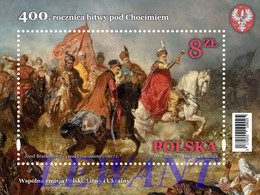 2021.09.02. 400th Anniversary Of The Battle Of Khotyn (joint Issue Of Poland, Lithuania And Ukraine) - MNH - Unused Stamps