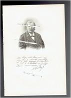 NESTOR GREHANT 1838 LAON 1910 PARIS MEDECIN CHERCHEUR PORTRAIT GRAVE AUTOGRAPHE BIOGRAPHIE ALBUM MARIANI - Documents Historiques
