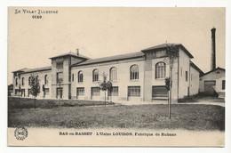 43 BAS EN BASSET Vers Monistrol Sur Loire N°6119 L'Usine LOUISON Fabrique De Rubans Le Velay Illustré - Monistrol Sur Loire