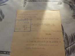 M-53 , WW2 ,  Police Nationale,  Brive, Cachet Police Nationale, Troupe Mobile,groupe De Réserve  1944 - Police