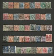 ITALIE 1 Lot De 45 Timbres Oblitérés Du N° 12 à 184 Y&T (10) - Sammlungen (ohne Album)