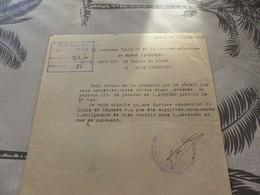 M-58 , WW2 , O.C.A.D.O De Corrèze, Gendarmerie Motorisé De Rodez, 1944 - Politie & Rijkswacht