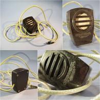 "/ MICROPHONE CRISTALBEL ""JUNIOR"" EN BAKELITE - Microphone Son Radio - Apparecchi"