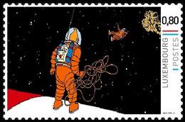 Timbre Privé** - Kuifje / Tintin - Milou / Bobbie - On A Marché Sur La Lune / Mannen Op De Maan / Männer Auf Dem Mond - Cinéma