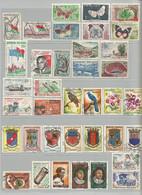 Madagascar 1 Lot De 37 Timbres Oblitérés  (N9) - Collections (without Album)