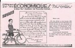 BUVARD, Cyclisme, Ville  Besançon, Offert Par Les ECONOMIQUES  Bisontins - Ohne Zuordnung