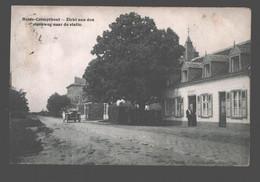 Kalmthout / Heide-Calmpthout - Zicht Aan Den Steenweg Naar De Statie - Kalmthout