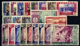 España Nº 889/97, 899/901, 903, 904/12. Año 1940 - 1931-50 Neufs